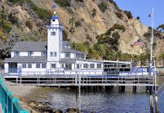 Catalina Yacht Club founded in 1893 by the Banning brothers.
