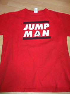 39f8cff85 MICHAEL JORDAN NIKE BRAND JORDAN JUMP MAN T-SHIRT YOUTH XL  ChicagoBulls