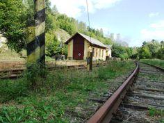 Locomotive shed in Skalsko by Mladá Boleslav (central Bohemia)