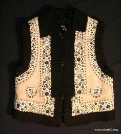 Keptar (sleeveless jacket), Bukovyna region of Ukraine.