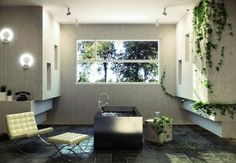 Bathroom Ivy of Open Views Bathroom for Relaxation and ReflectionRead great articles on the latest 2013 #bathroom trends here http://articles.builderscrack.co.nz/tag/bathroom/ or hire a professional today from #Builderscrack http://builderscrack.co.nz/post-job-desc