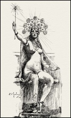 Louis Chalon — Circe — 1888