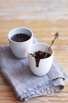 thick hot chocolate Italian style
