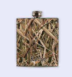 Mossy Oak mossy oak camo Camo Flask Camo Flask  by RKGrace on Etsy, #mossy oak #camo #wedding