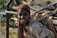 Firewood II (Ethiopian Portrait VI) by Nicole Cambré on 500px