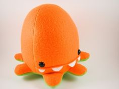 Handmade Baby Octopus Toy