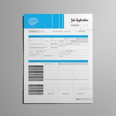 90f5d70cce Job Application Form Template US Letter