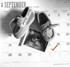Baby Due Date Calendar Announcement Baby Number 2 Announcement, Second Baby Announcements, Creative Pregnancy Announcement, Pregnancy Announcements, Baby Pictures, Baby Photos, Baby Number 3, 2nd Baby, Baby Baby