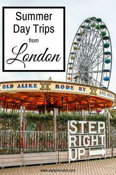 If you're looking for a quick getaway, today I bring you 5 lovely summer day trips from London. These are the best places to soak up the season.
