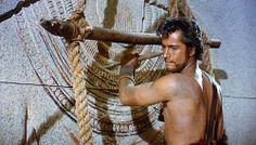 John Derek as Joshua in The Ten Commandments