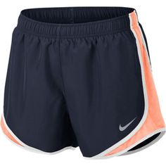 Nike Women's Dry Tempo Shorts (Bright Melon/Palm Green/Wolf Grey, Size Medium) – Women's Athletic Apparel, Women's Athletic Performance Bottoms at … - Women Shorts Womens Workout Outfits, Nike Outfits, Gym Shorts Womens, Nike Shorts Outfit, Running Outfits, Women Shorts, Running Gear, Trail Running, Nike Tempo Shorts