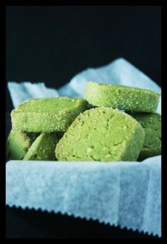 almond matcha cookies more cookies yield cookie green pies cookies ...