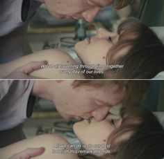 ― About Time (2013)Tim: We're all travelling through time together every day of our lives. All we can do is do our best to relish this remarkable ride.