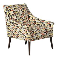 I would look so chic reading in this.   I pinned this Kipling Accent Chair from the Forties Flair event at Joss and Main!