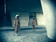 Lost astronauts, 2011  Bernard Bailly  www.500px.com/BernardBailly    for #composition #motion #color