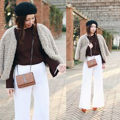 Get this look: http://lb.nu/look/8580749  More looks by Mizuho K: http://lb.nu/xoxohilamee  Items in this look:  Rosegal Brown Side Slit High Low Oversized Sweater, Xoxo Hilamee More Details On   #casual #chic #retro