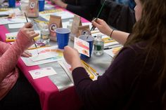 DIY Watercolor workshop recap | Announcing our 2015 DIY Wedding Workshops dates! | Images: Cynthia Shipp Photography