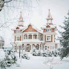 Beautiful House in Winter