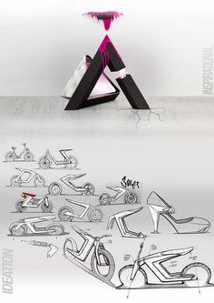 Solex concept bike / Industrial project on Behance