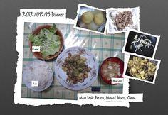 For Dinner on 15/Aug/2012