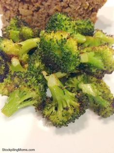 The best broccoli you will EVER eat!  5 minutes to prepare - 30 minutes to cook!  #Paleo #GlutenFree #Healthy