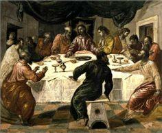 The Last Supper - El Greco