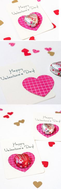 Simple Chocolate Heart   23 DIY Valentines Crafts for Boyfriend