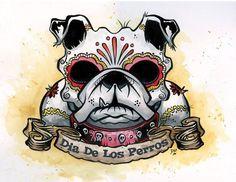 Sugar skull bullie