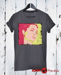 Angelina Jolie T-shirt / Angelina Jolie Tee / Famous Actress Tshirt / T shirt all sizes - XS, 5XL / Loose T-shirt / Slim Fit Tshirt by KMKDIGITAL on Etsy Sport T Shirt, My T Shirt, Shirt Shop, Cotton Tee, Slim, T Shirts For Women, Trending Outfits, My Love, Football Tee