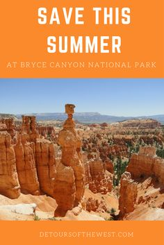 Tour the incredible Bryce Canyon National Park out of Las Vegas with fantastic views. Experience the national park with the experts at DETOURS leading the way! National Park Tours, National Parks, Bryce Canyon, Grand Canyon, Las Vegas Tours, Sunset Point, Day Tours, Monument Valley, Utah