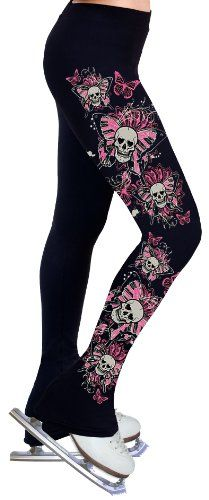 Ice Figure Skating Dress Practice Pants P09 - Adult Small $49.99