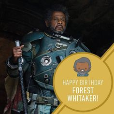 "Reposting @starwars: ""Bor Gullet knows the truth. It's time to wish Forest Whitaker a happy #birthday! #StarWars #RogueOne"""