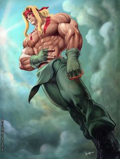 Alex - Street Fighter III