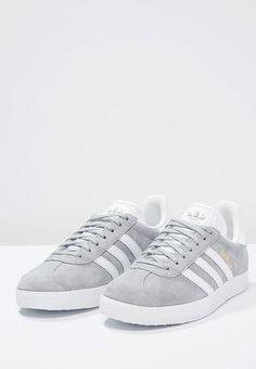 Pedir  adidas Originals GAZELLE - Zapatillas - mid grey/white/gold metallic por 99,95 € (7/05/17) en Zalando.es, con gastos de envío gratuitos.