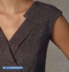 Vogue Patterns Sewing Pattern Misses' Surplice Dress Vogue Patterns, Couture Details, Fashion Details, Clothing Patterns, Dress Patterns, Surplice Dress, Fashion Sewing, Mode Inspiration, Sewing Clothes