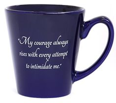 """""""My Courage Always Rises with Every Attempt to Intimidate... https://smile.amazon.com/dp/B00S0CLDP6/ref=cm_sw_r_pi_dp_61ZIxbHN6912R"""