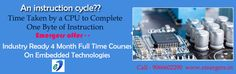 Emergers Technologies Offers Industry Ready 4 month Full time Courses on Embedded Systems.