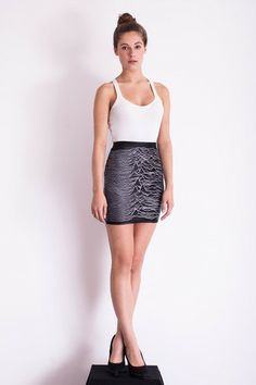 Pulsar 1919 Skirt (joy division, Unknown pleasures)