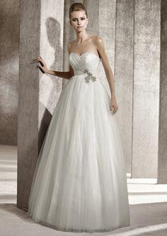 Brautkleid von Pronovias You Kollektion 2012 Modell Jaspe