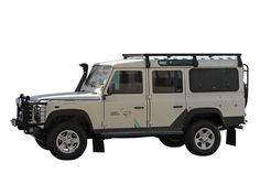 This full size Slimline II rack kit contains the Slimline II tray (2166mm x 1425mm), (6) Gutter Mount Legs, and Wind Deflector.PLEASE NOTE: The NAS roll cage on some Land Rover Defenders may interfere with the positing of the gutter mount legs. If you have a NAS roll cage on your Defender, please contact us before you make your purchase. THE SLIMLINE II IS STRONG. Unlike most roof racks, the Slimline II was designed and built specifically for off-road use. Manufactured with high density…