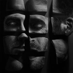 Surface: Fragmented Portraits by Ben Howe | Inspiration Grid | Design Inspiration