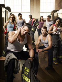 "I started watching it for the ""eye candy"", now that is secondary. Chicago Fire, seriously best show ever,"