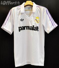 Bola Store: Jersey Retro Classic Football Shirts, Football Jerseys, Real Madrid, Polo Shirt, Retro, Store, Mens Tops, Fashion, T Shirts