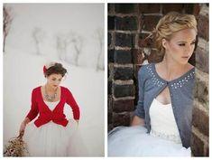 Para las fresquitas noches primaverales como la de hoy @innovias recomienda chaquetitas de punto para la novia