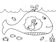 Here are the Interesting Sunday School Coloring Pages. This post about Interesting Sunday School Coloring Pages was posted under the Coloring Pages . Whale Coloring Pages, Fish Coloring Page, Printable Coloring Pages, Coloring Pages For Kids, Coloring Sheets, Bible Story Crafts, Bible School Crafts, Sunday School Crafts, Bible Stories