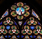 Notre Dame de Bayeux-breathtaking cathedral windows