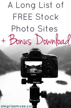 If you don't have money to waste finding images for your blog, you'll be happy to know where to find FREE STOCK PHOTO SITES!