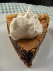 Happy Taste Test Tuesday! Today we are taking a break from cakes and focusing on PIES. One of our favorite pies that we like to enjoy this time of year is Minnie's Chocolate Pie. This is a Chocolaty Custard-like Pie that is just light enough so you don't feel guilty, yet has enough chocolate to make you think you have just indulged in something bad! Stop in today and let us know what you think.  Photo courtesy of Sweetiepetitti.blogspot.com