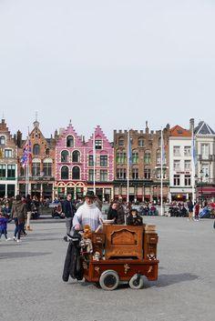 A must-do in Bruges, Belgium: Markt Square