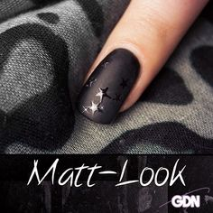 Edler Matt-Look von www.german-dream-nails.com #nailart #nageldesign #fashion